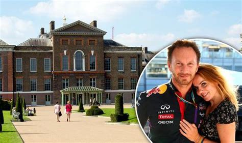geri horner the sun geri halliwell books kensington palace for may wedding to
