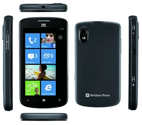 zte cell phone zte tania black on mobile