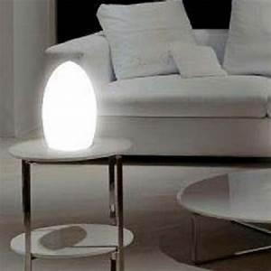 Lampe Exterieur Sans Fil Rechargeable : lampe led sans fil small egg deco lumineuse ~ Teatrodelosmanantiales.com Idées de Décoration