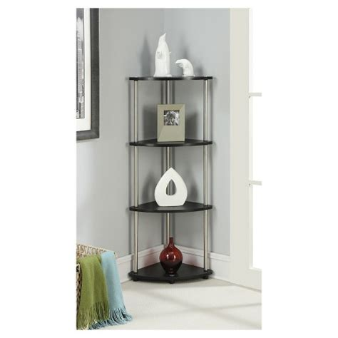 target corner shelf 4 tier corner shelf convenience concepts target