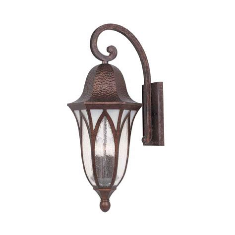 copper wall sconces world imports 11 in burnished antique copper outdoor wall