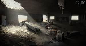 Skies, Destroyed, Buildings, Interior, Sergey, Shilkin, On, Artstation, At, S, Artstation, Com