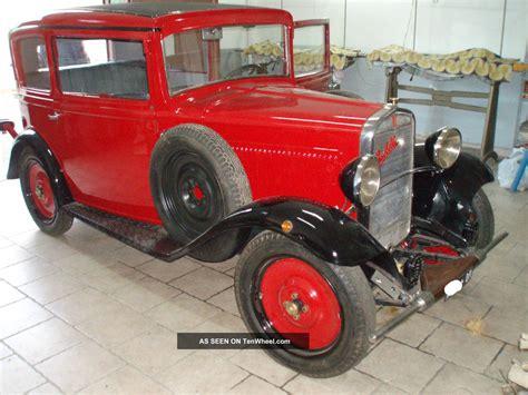 Vintage Fiat Balilla 3 Marce Anno 1932
