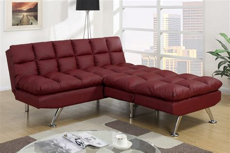 Lovely Red Leather Sofa Beds 57 For Your Sofa Bed