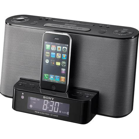 iphone speaker dock sony icf cs10ipblk ipod iphone speaker dock clock