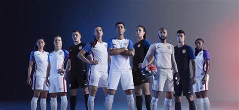 usa  national men  womens soccer kits nike news