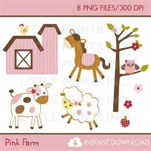 Baby Farm Animal Clip Art