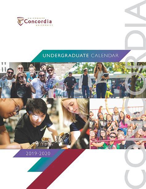 undergraduate calendar