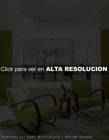 ideas  decorar ambientes en color verde decoracion