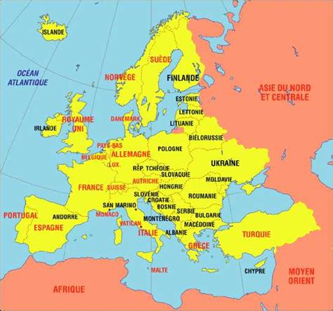 Carte Fleuves Europe Centrale by Europe Centrale G 233 Ographie