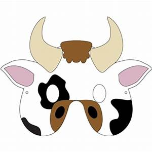 silhouette design store view design 32275 cow mask With bull mask template