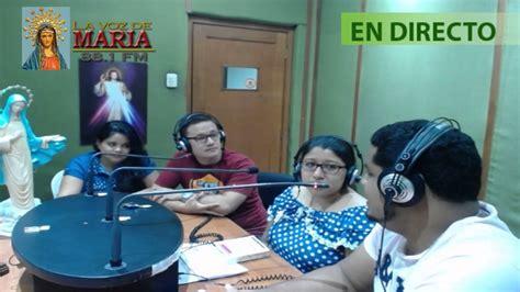 Transmisión en directo Radio La Voz de María YouTube