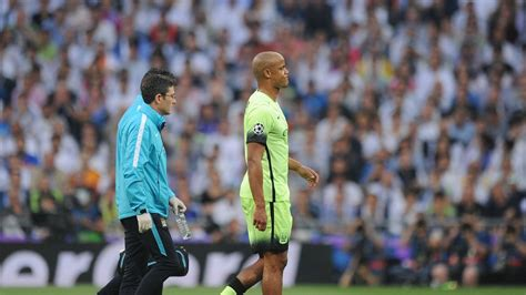 Manchester City captain Vincent Kompany ruled out of ...
