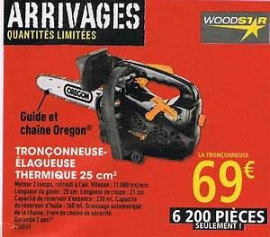 Affuteuse Chaine Tronconneuse Brico Depot : tron onneuse lagueuse thermique woodstar 25 cm3 ~ Dailycaller-alerts.com Idées de Décoration
