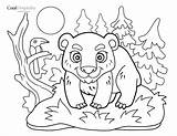 Coloring Bear Spa Resort Young Brasstown Valley sketch template