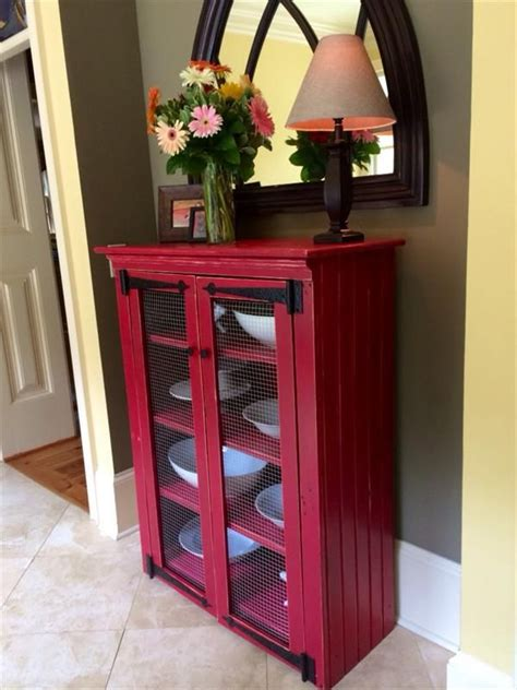 material for kitchen cabinet diy pallet rustic and shabby chic cabinet 101 pallets 7398