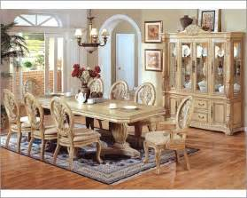 dining room sets mcferran home furnishings 9pc formal pedestal dining room set in white mcfd5 traditional