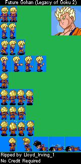 game boy advance dragon ball   legacy  goku ii