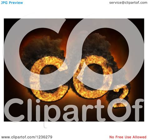 clipart    carbon dioxide emissions royalty  cgi illustration  mopic