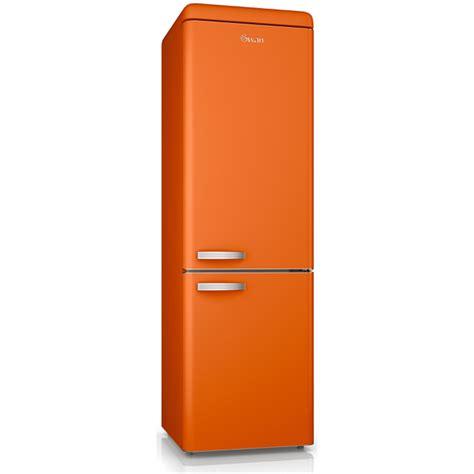 under towel rack swan sr11020on retro fridge freezer orange iwoot