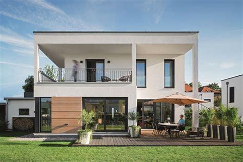 Moderne Baustile by Bauhaus Stadtvilla Mit Flachdach Haus Lichtdurchfluteter