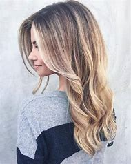 Balayage Hair Blonde Bangs