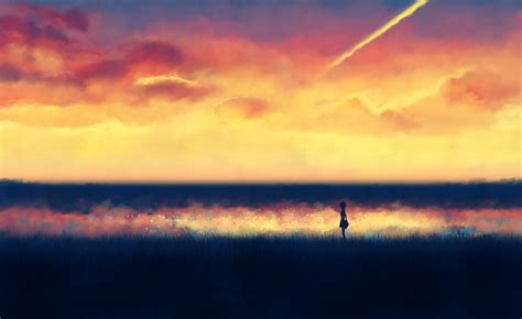 Lonely Anime Wallpaper - illustrations lonely backgrounds anime