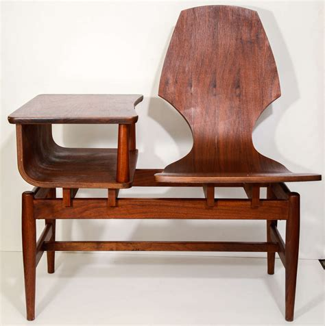 Mid Century Combined Chair And Side Table At 1stdibs