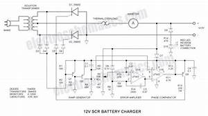 12v Scr Battery Charger - Battery Charger
