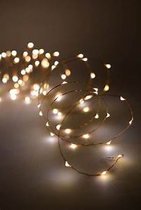Led, 20, Feet, Fairy, Lights, Copper, Wire, With, 120ct, Warm, White
