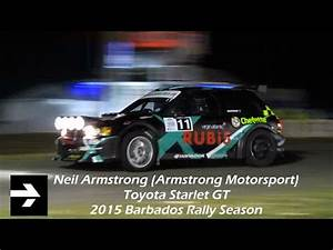 VIDEO - Neil Armstrong - Toyota Starlet GT (2015 Barbados ...
