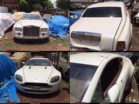 Leena Maria Paul's Abandoned Luxury Cars In Chennai