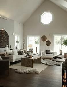 Schöne Wohnzimmer Farben : einladendes wohnzimmer dekorieren ideen und tipps ~ Indierocktalk.com Haus und Dekorationen
