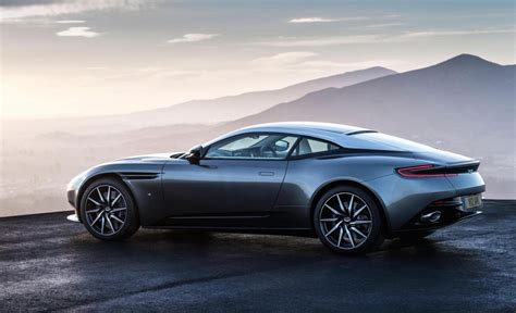 aston martin db11 debuts 600hp twin turbo v12
