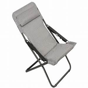 Lafuma Chaise Longue : chaise longue transabed lafuma be comfort silver 1 colis ~ Nature-et-papiers.com Idées de Décoration