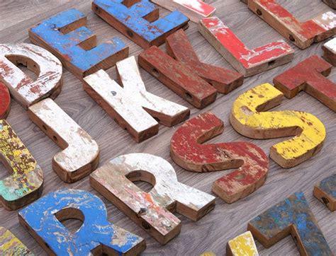 buchstaben holz deko holz buchstaben und zahlen shabby bootsholz buchstabe alphabet zahlen deko a z ebay