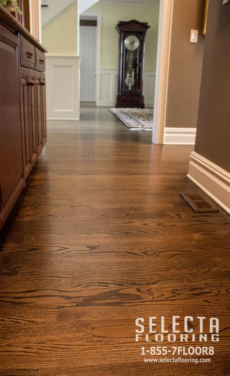 pantry finished  duraseal  jacobean  red oak