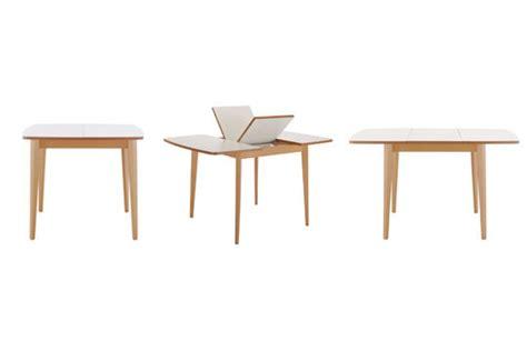 table cuisine habitat table de cuisine avec rallonge integree