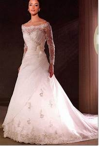 simple wedding dresses with sleeves show one modest With simple wedding dresses with sleeves