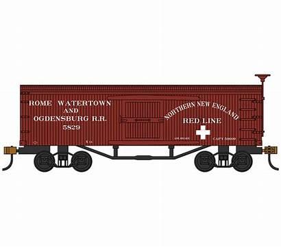 Ogdensburg Watertown Rome Box Trains Rr Bachmann