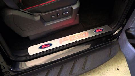 recon part fdrd ford     door sill brushed