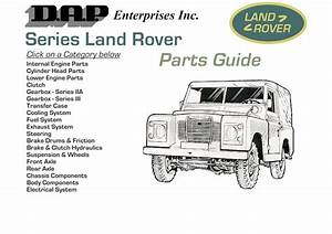 Land Rover Series Parts Guide Pdf  2 65 Mb