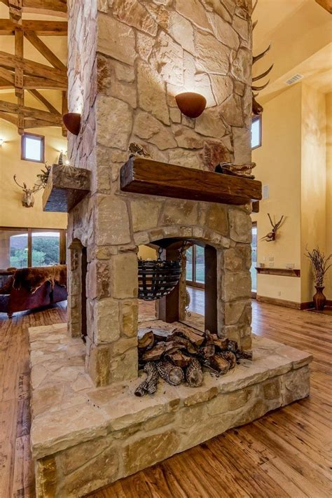 two sided fireplace transform your spacious space with a sided