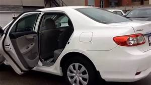 2011 Toyota Corolla White  Automatic  Heated Mirrors