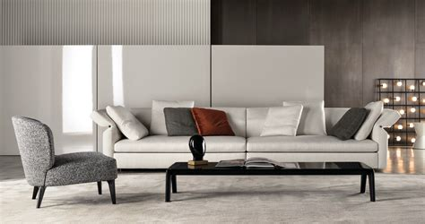 Collar Sofa By Rodolfo Dordoni For Minotti