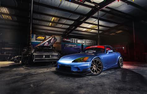 wallpaper car tuning garage honda  images
