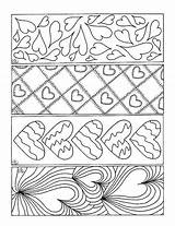 Bookmarks Coloring Valentines Colouring Valentine Printable Bookmark Mandala Pdf Lesezeichen Theme Adult Google Malvorlagen Hearts Books Heart Vorlagen Valentin Saint sketch template