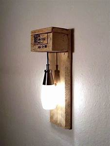 Lampen Selber Herstellen : die besten 25 wandleuchte holz ideen auf pinterest holz wandlampen led wandleuchte und led ~ Markanthonyermac.com Haus und Dekorationen