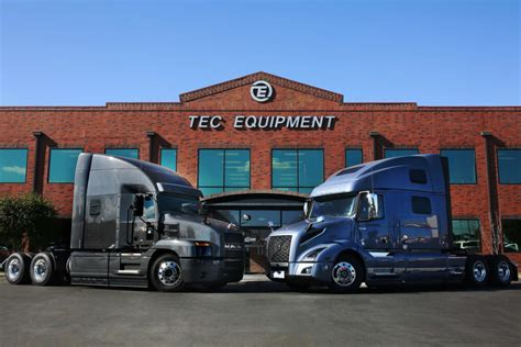 heavy duty truck dealership tec equipment portland