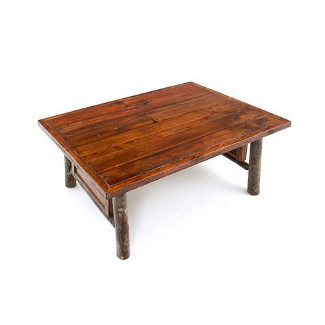 original coffee table old yellowstone original panel coffee table green gables